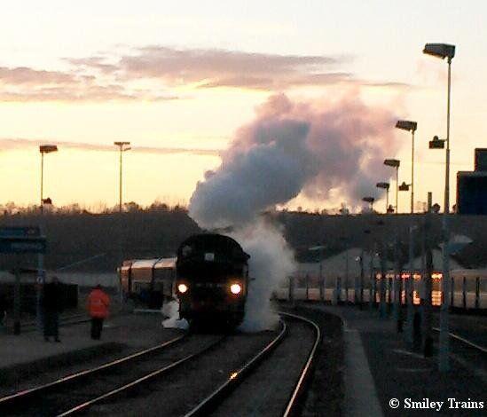 Noël à Provins - Le train à vapeur du musée de l'AJECTA - Photo AJECTA