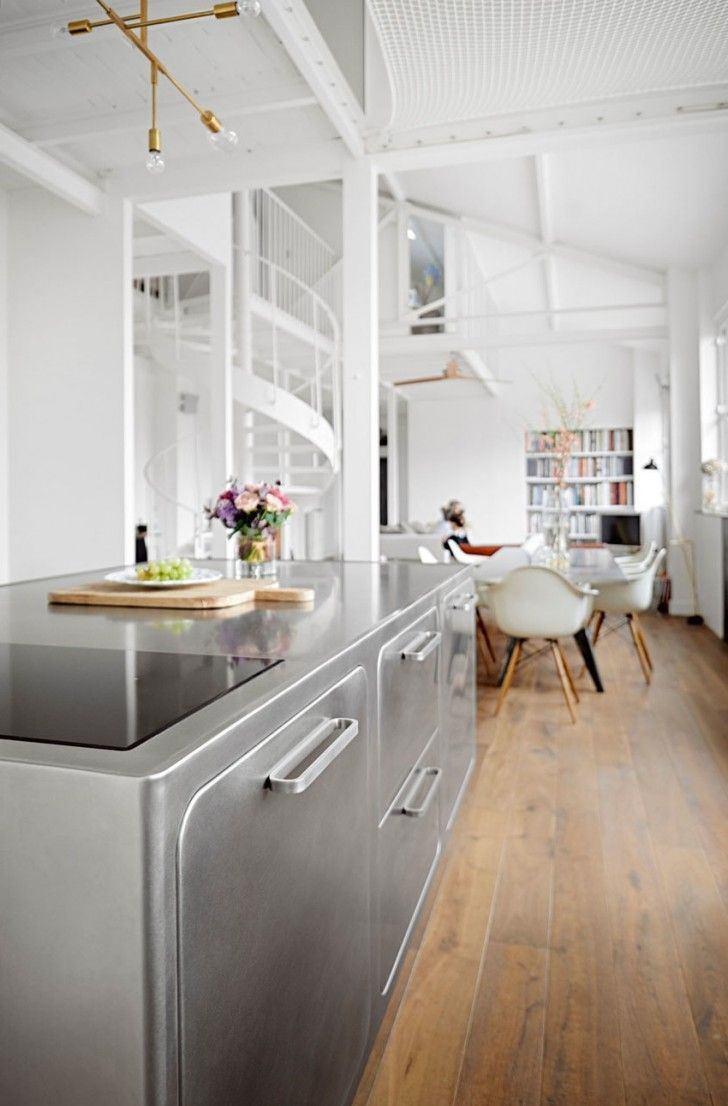 kitchen Interior Modern KitchenCustom Made Abimis Kitchen for Passionate Gourmet Cooks