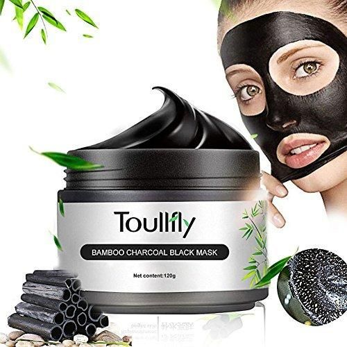 Blackhead Remover Cleaner Purifying Deep Cleaning Black Mud Face Mask Peel-offBlackhead RemoveFace mask BlackBamboo Charcoal tearing Blackhead Removal Mask Deep Cleansing