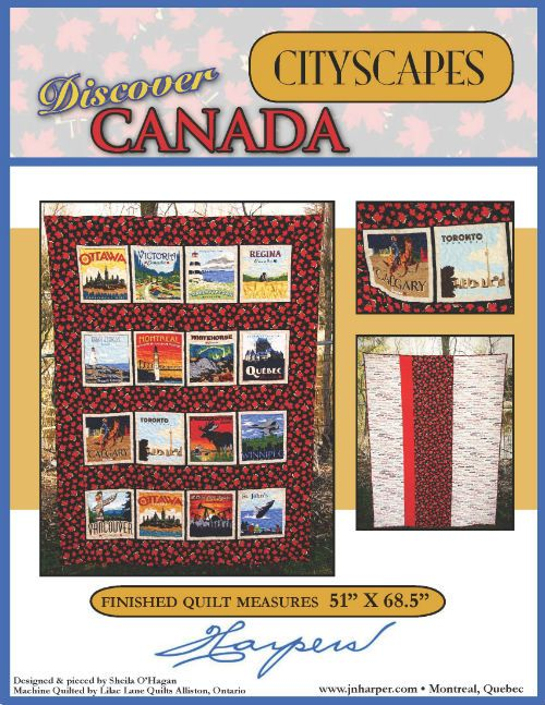 Discover Canada - Cityscapes - Quilt Kit