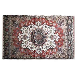 Vloerkleed Perzische Print N° 25 - 90 x 150 CM      Wow, enorm mooi kleed ineen neutrale babykamer.