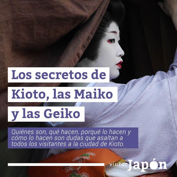 Quiénes son, qué hacen, porqué lo hacen y cómo lo hacen son dudas que asaltan a todos los visitantes a la ciudad de Kioto