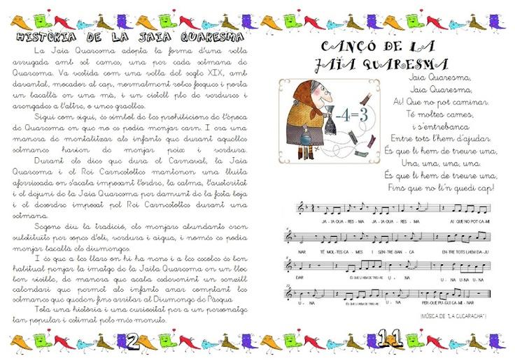 LLibret Jaia Quaresma - Laura Cuenca - Àlbums web de Picasa
