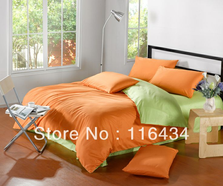 25 Best Ideas About Orange Bedding On Pinterest Bright