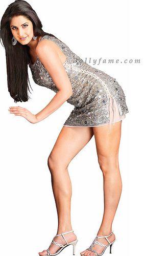 Katrina Kaif Thunder Thighs in Hot Mini Skirt - www.Bollyfame.com