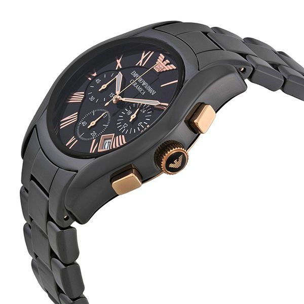 Emporio Armani AR1410 Ceramica Mens Chronograph Quartz Watch