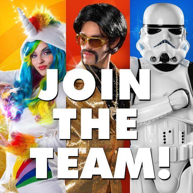 Wir suchen neue Kollegen in Berlin. Bewirbt Dich jetzt bei uns: http://ift.tt/2pcO5D5  #maskworld #jobs #jobsuche #jobsinberlin #karriere #arbeiten  #Verkleidung #neuerjob #arbeit #Unternehmen #Einhorn #Stormtrooper #Disco #jointheteam