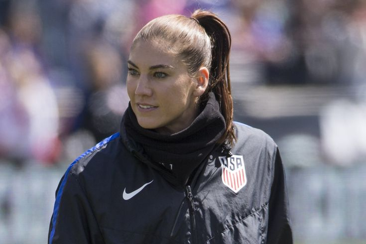 Hope Solo is serious about her bid to lead U.S. Soccer Federation