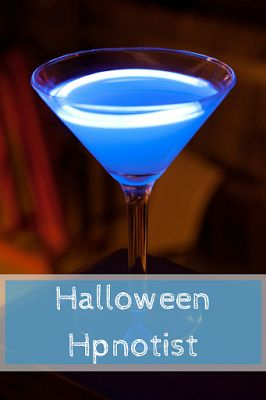 For the recipe go to www.ayearofcocktails.com Once you have made this cocktail turn off the lights and it is awesome.  Great for an adult Halloween Party.