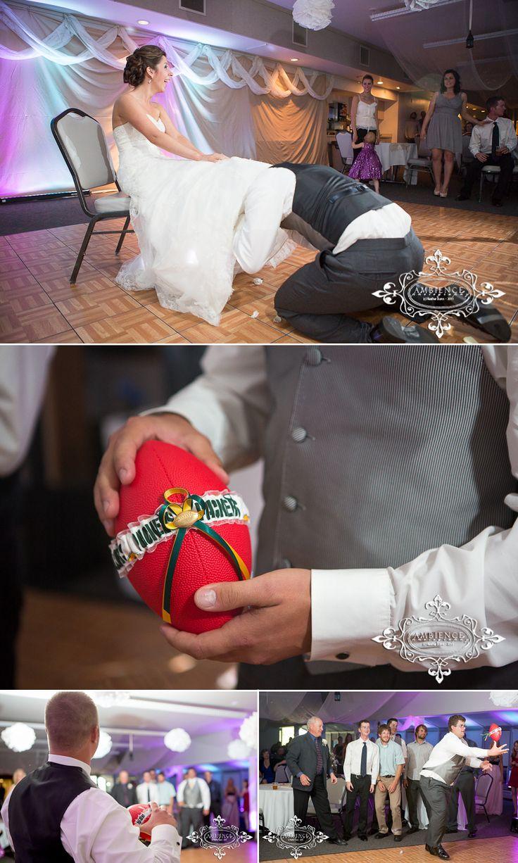 Green Bay Packers wedding garter