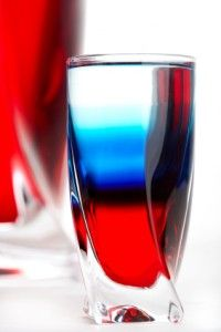 4th of july layered drink recipes