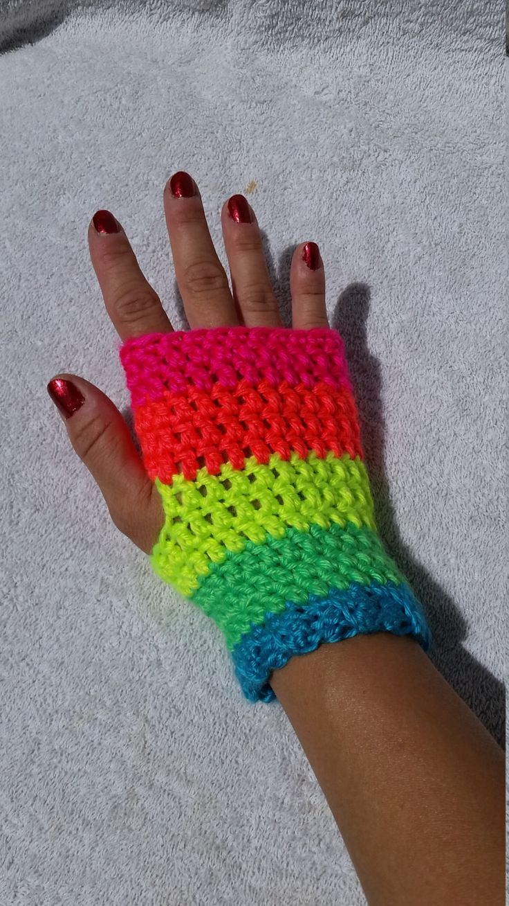 Driving texting gloves - Rainbow Victorian Style Fingerless Gloves Wrist Warmers Driving Gloves Short Gloves Steampunk