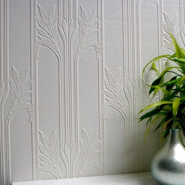 Wildacre Textured Paintable Wallpaper design by Brewster