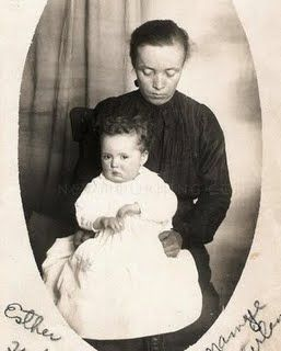 Creepiest photo of all time! It shows a small child on the lap of her deceased mother!