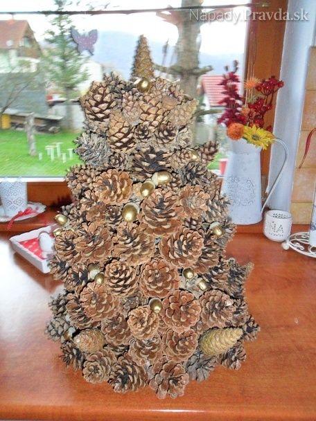 Šiškový stromček (fotopostup)