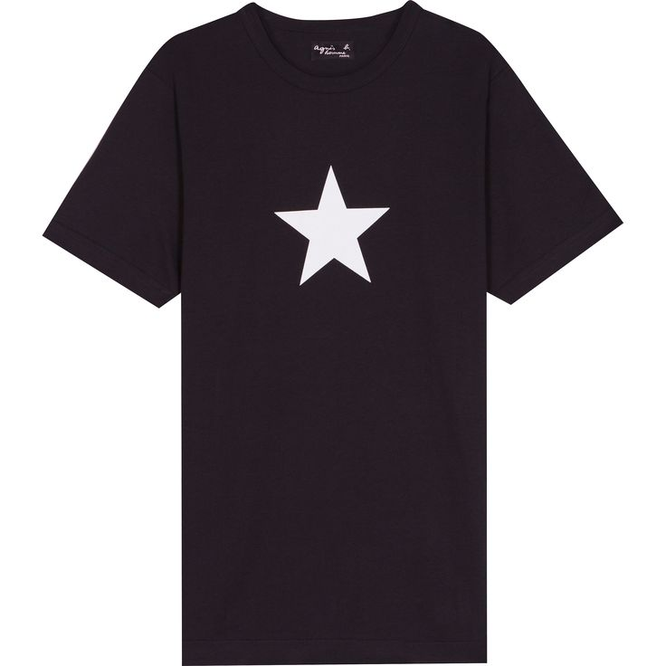 t-shirt étoile noir