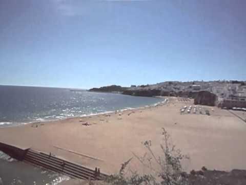 Albufeira Praia dos Pescadores (Fishermen's Beach ) Live Cam Record - YouTube