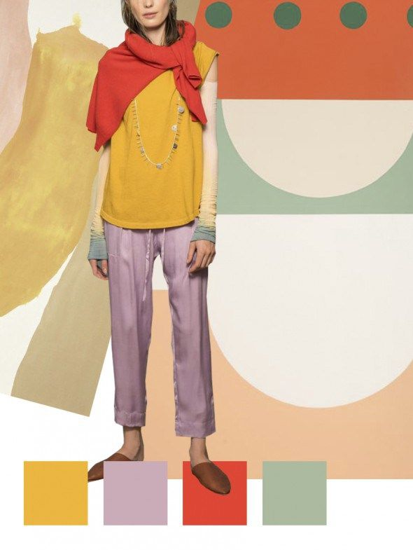TRENDS // PATTERN PEOPLE - PRINT + COLOR TREND . SS 2018                                                                                                                                                                                 More