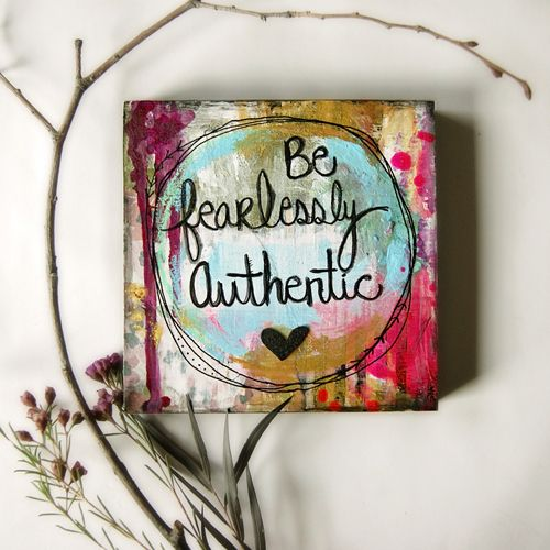 fearlessly authentic  serena wilson stubson