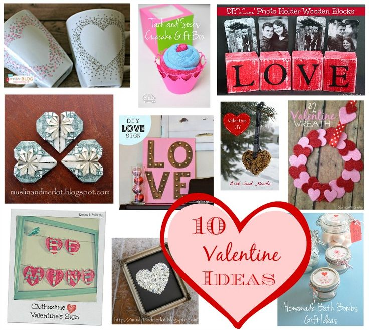 10 Valentine DIY Ideas Great Round Up Of Crafts And