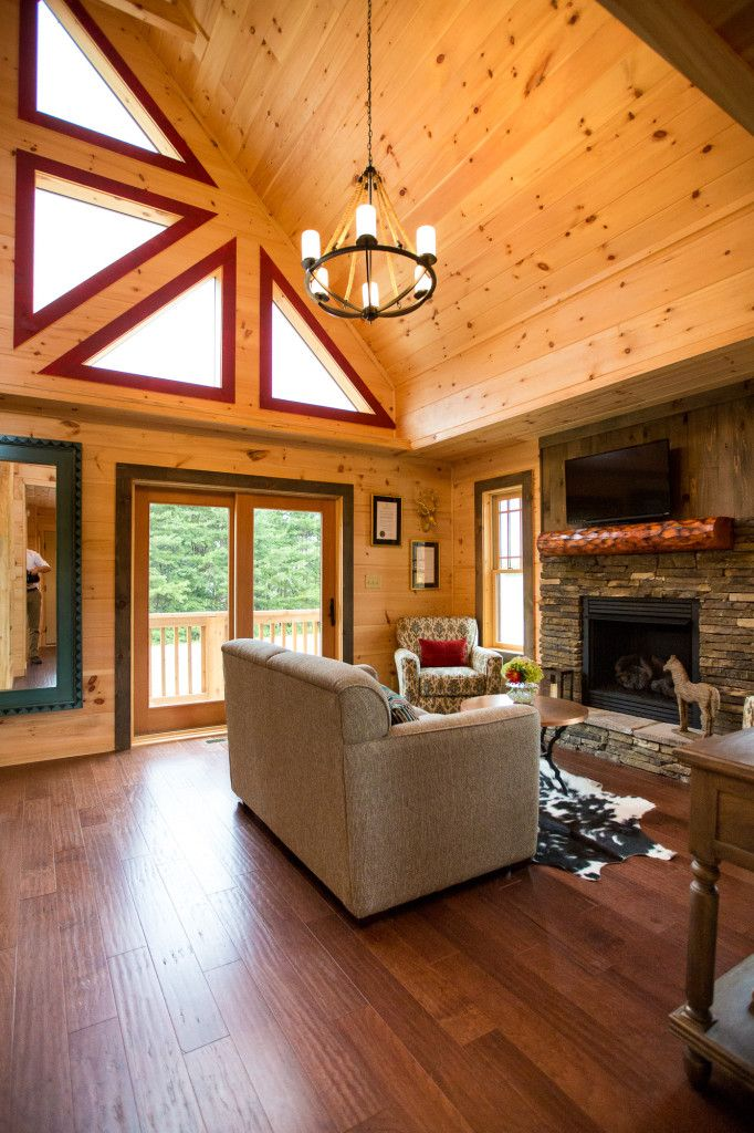 800 Sq Foot House - Mountain Architecture by Blue Ridge Log Cabins | Blue Ridge Log Cabins
