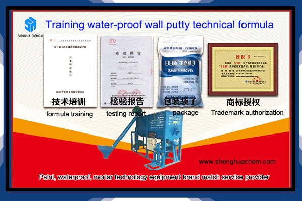 Wall Putty Technical Formula Wall Painting Wall Mortar