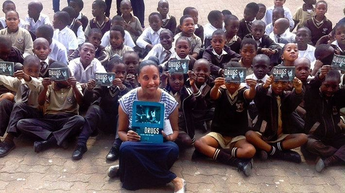 """Truth About Drugs Gives Life Coach the Tools to Reach Kids    Read on the Scientology News site... http://qoo.ly/ffp26    South African Life Coach helps youth make decisions based on facts, not pro-drug propaganda.    Siyanqoba is the Xhosa word for """"overcome"""" or """"conquer."""" It is also the name chosen by life coach Antoinette Mbenenge for the work she is doing tackling drug abuse in the schools of Gauteng province South Africa.    Mbenenge finds drug-abusing celebrities set a bad example for…"""