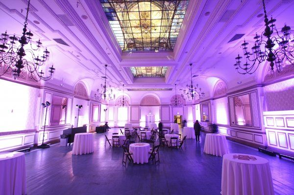 The ballrooms at the Alexandria Hotel, Los Angeles, through eventfilmla.com