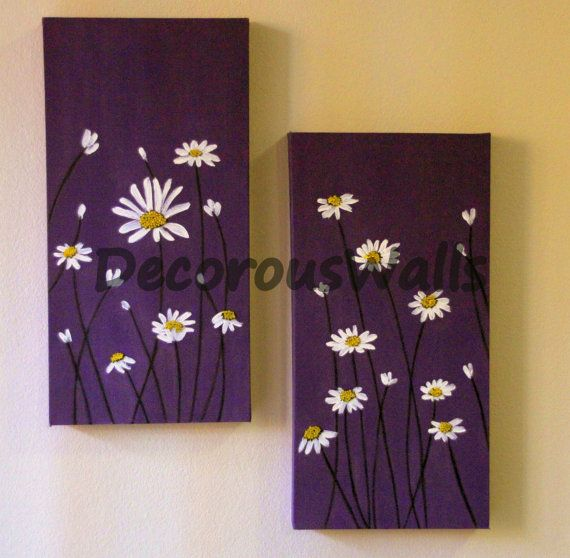 Daisies by DecorousWalls on Etsy