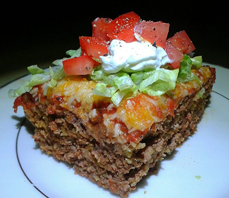 """Mexican Meatloaf - """"A Mexican meatloaf that will satisfy even your pickiest eaters. Any leftovers can be easily recycled into tacos, quesadillas and burritos."""" @allthecooks #recipe"""