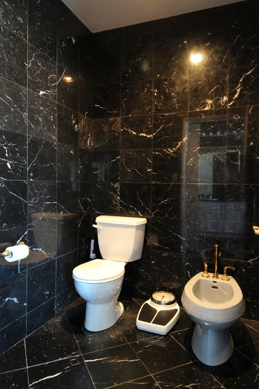 Black Marble Powder Room Google Search Cloackroom