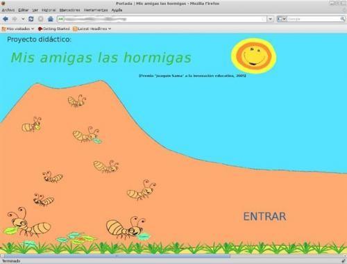Proyecto Mis amigas las Hormigas. Muy completo. - Complete Ants Project in Spanish.