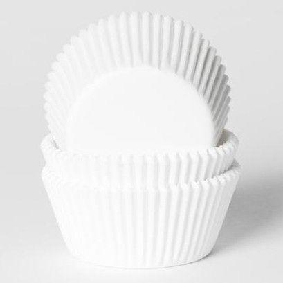 House of Marie Baking cups Wit - pk/50   Deleukstetaartenshop.nl