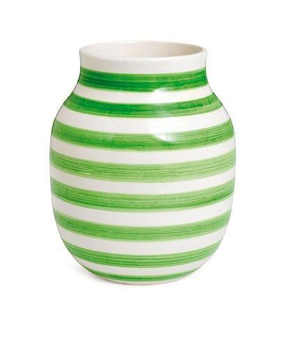 Green Omaggio Vase by Kahler