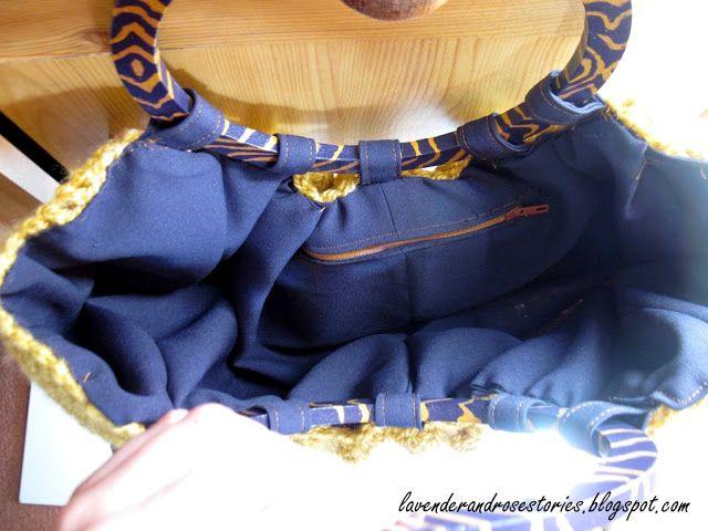 Szydełkowa torebka to czy koszyczek, czyli długo oczekiwany finał