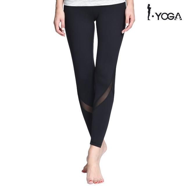 Fitness Yoga Sports Leggings For Women Sports Tight Mesh Yoga Leggings