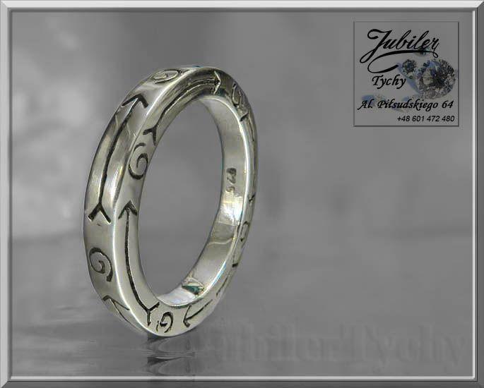 Srebrna obrączka - pierścień oksydowany 💎🎁💥 #srebrna #obrączka #pierścień #oksydowany #srebrne #obrączki #pierścionki #oksydowane #srebro #Ag925 #srebrny #pierścionek #oksydowany #Silver #oksyda #Jubiler #Tychy #Jeweller #Tyski #Złotnik #Zaprasza #Promocje : ➡ jubilertychy.pl/promocje 💎
