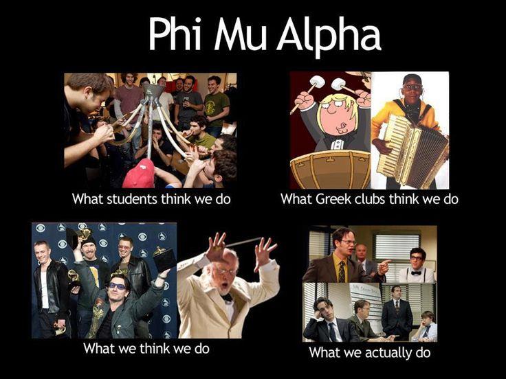 Phi Mu Alpha humor :P