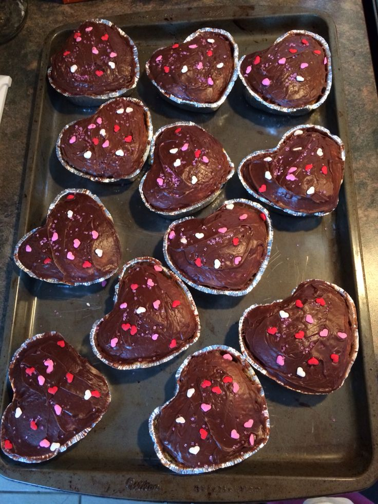 Valentine's cupcakes for my son's class.