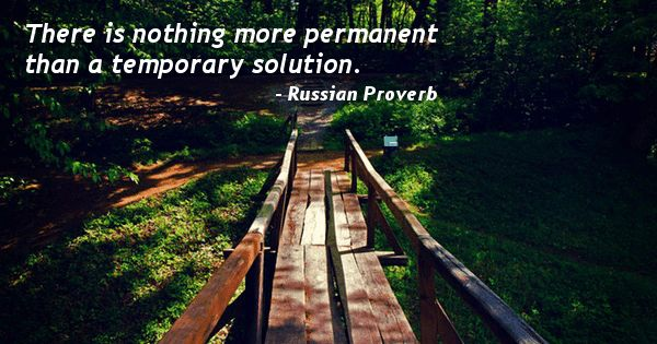 Russian Proverb Quote