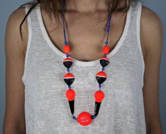 Collar de boyas marinas por AranSea en Etsy