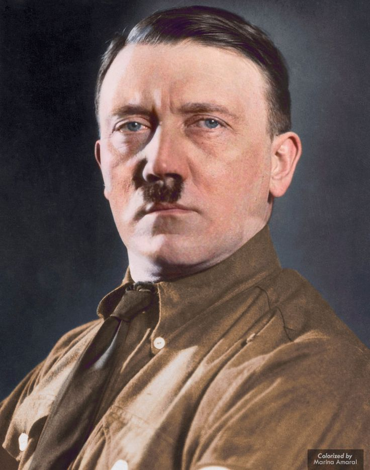 Colorization: Adolf Hitler by marinamaral on DeviantArt