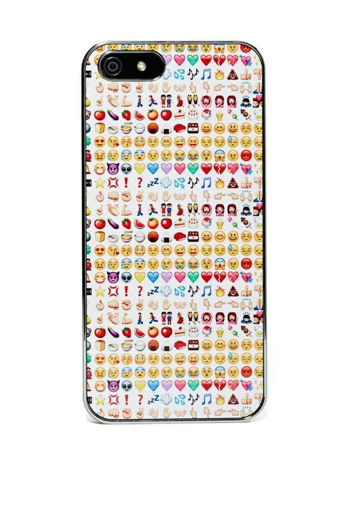 Emoji iPhone 5 Case - Tech |  | Fun Stuff