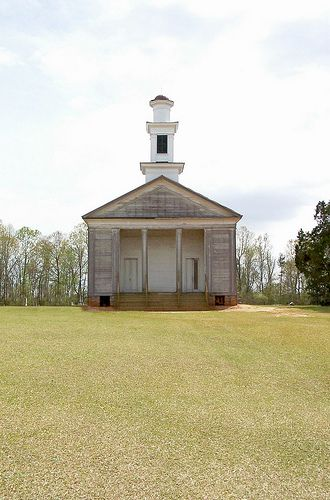 Antebellum Greek Revival Church, Lowndes County, Alabama