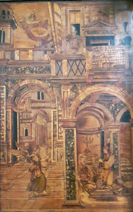 Coro Intarsiato.  Frate Domenico Zambelli.  1529 -1550
