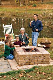 diy firepit: Fire Pits, Backyard Inspiration, Backyard Ideas, Diy Firepit Yes, Diyfirepit, Firepits Outdoors, Diy Firepit Summer