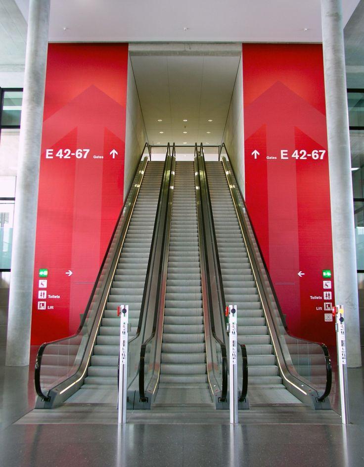 Zurich Airport Dock E, Metro Station - Sascha Török