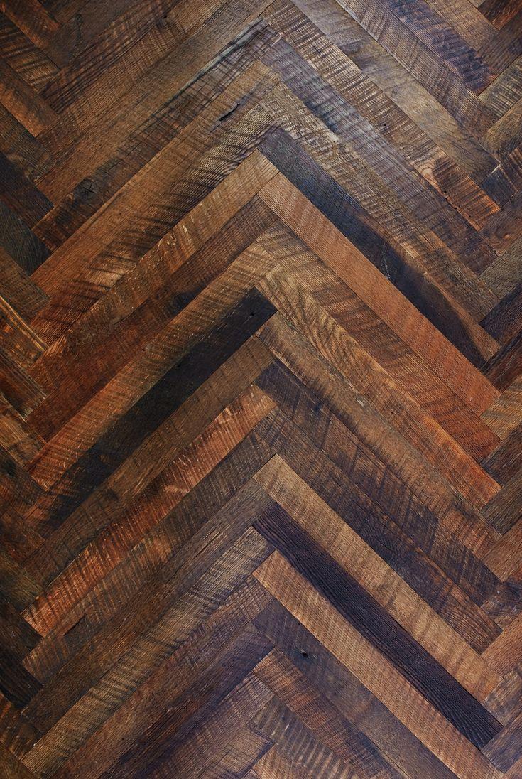Custom Herringbone Wooden Floors