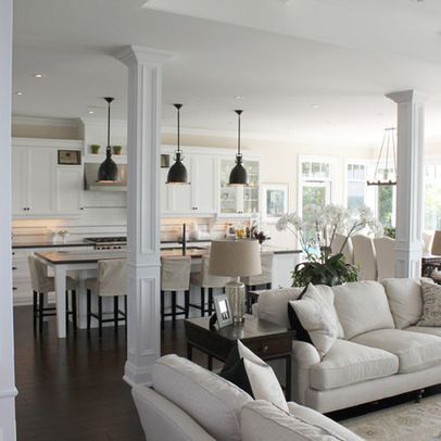Traditional Home columns Design Ideas, Pictures, Remodel and Decor