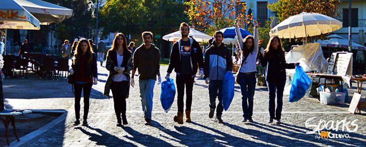 Παγκόσμια Ημέρα Εθελοντισμού - Sparks by GloVo #GloVo_Platform